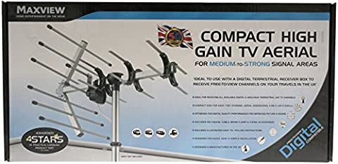Maxview B2001 Compact High Gain UHF TV Aerial
