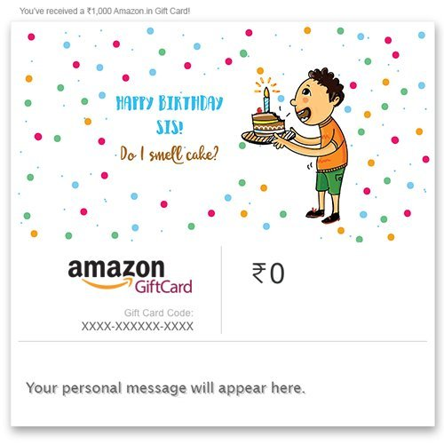 gift cards for birthday