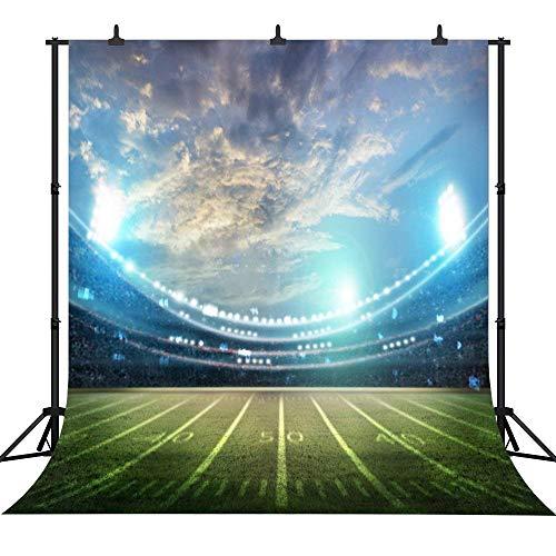 GzHQ PGT115A Fotohintergrund, 150 x 210 cm, glänzendes Spielplatz-Rasen, nahtlos, Vinyl
