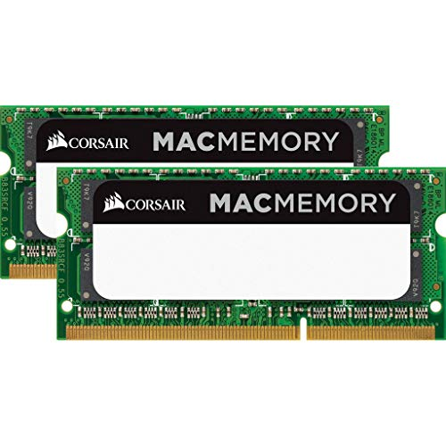 Corsair CMSA16GX3M2A1333C9 Apple Mac 16GB (2x8GB) DDR3 1333Mhz CL9 Apple Zertifiziert SO-DIMM Kit (Apple 8gb Book Mac Pro,)