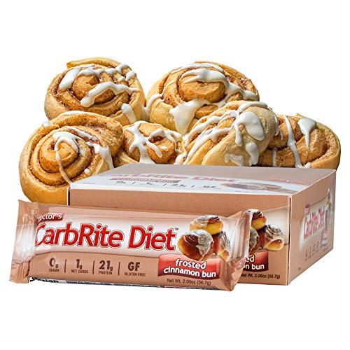 Universal Nutrition, Allgemeinarztpraxis CarbRite Diet Bar, Sugar Free, Frosted Cinnamon Bun, 12 Bars, 2,00 Unzen (56,7 g) Jeder - Universal Doctors Carbrite Diet Bar
