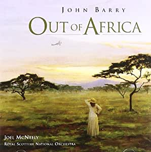 John Barry: Out of Africa: film score [SOUNDTRACK]
