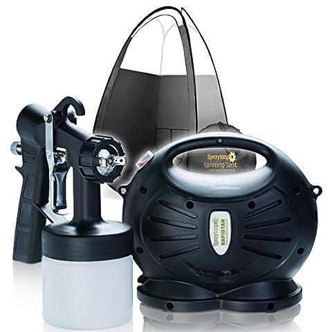 Rapidtan HVLP Spray Tanning Kit Spray Tan Machine T650 with