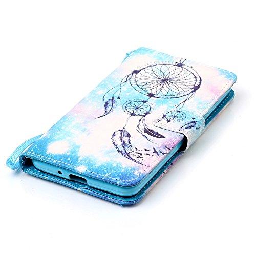 Samsung Galaxy Grand Prime G530 Hülle,Sunroyal PU Leder Brieftasche Schutzhülle Tasche Handyhülle Schutz Hüllen im Bookstyle Ledertasche mit Stand Funktion Kartenfächer Magnetverschluss Magnet Etui Sc Pattern 7