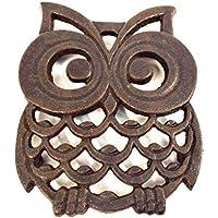 Sass & Belle - Salvamantel de hierro fundido, diseño en forma ...