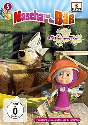 Mascha und der Bär, 05/die Heimwerker