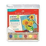 Faber Castell Paint By Number Museum Series Sunflowers by Vincent Van Gogh