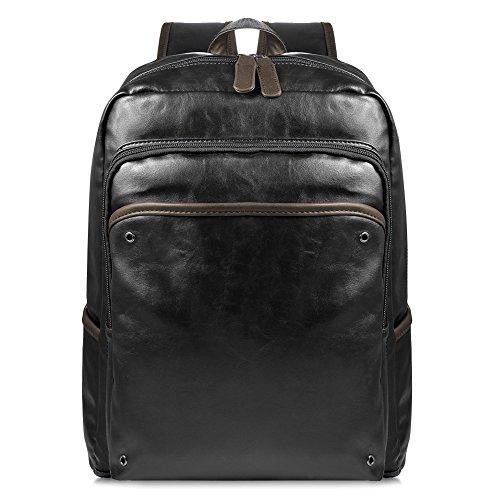 Imagen de vbiger  escolares de cuero  portatil de hombre para 13'' negro  alternativa