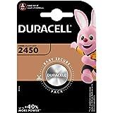 Duracell CR2450 Lot de 4 piles bouton Lithium 3 V