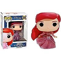 The Little Mermaid POP! Disney Vinyl Figure Ariel (Gown Glitter) 9 cm Funko Mini figures