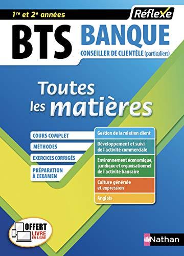 BTS Banque - Option Conseiller de clientèle - Toutes les matières (18)