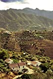 Fotografía a 12'x18' Impresión fotográfica de una granja casa cerca de Frigiliana, Andalusia,...