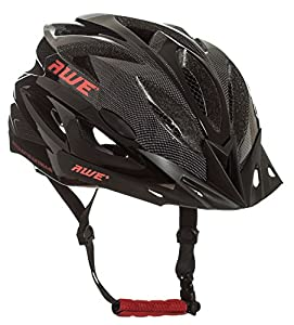 AWE® AWEAirTM FREE 5 YEAR CRASH REPLACEMENT* In Mould Adult Mens Cycling Helmet 58-61cm Black, Carbon from AWE®