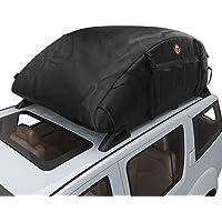 Faltbare Auto Dachbox Wasserdichte Dachtasche Aufbewahrungsbox Oberseite Träger Dach Fracht Beutel Kasten für Reise und Gepäcktransport(16.7 Kubikfuß)