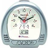 NRS Healthcare - Reloj despertador parlante (en inglés)