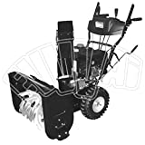 Schneefräse PS756–Motor Benzin 212CC–bürstet Schnee Schneeschieber