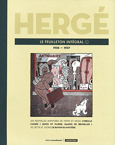 Hergé, le feuilleton intégral : Volume 6, 1935-1937