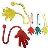 OSYARD 5Pcs Kids Sticky Hands Palm Party Favor Toys Novelties Prizes Birthday Gift (Random)