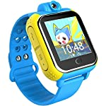3G GPS Tracker Kinder Smart Watch TURNMEON® Armbanduhr SIM SOS WiFi Android 4.2 tragen Kamera Touch Armbanduhr Eltern Control App für Smartphone (Blau)