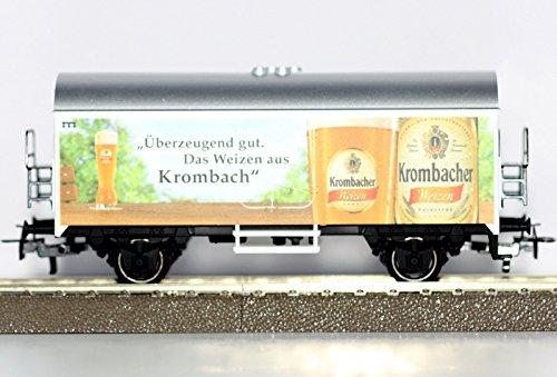 marklin-h0-94381-bierwagen-krombacher-weizen-kuhlwagen-neu