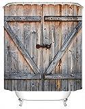 DAFENP Duschvorhang Anti-Schimmel Wasserdichter Anti-Bakteriell und Umweltfreundlich inkl. 8 Duschvorhangringe für Badezimmer,180x180 cm,YL01-style10