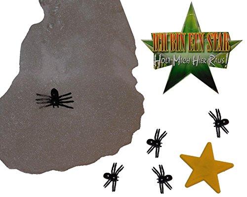 deko-stern-mit-5-spinnen-spinnennetz-ich-bin-ein-star-holt-mich-hier-raus-dschungelcamp-fur-party-de