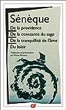 De la providence - De la constance du sage - De la tranquillité de l'âme - Du loisir (Garnier Flammarion / Philosophie t. 1089) - Format Kindle - 9782081431867 - 6,99 €