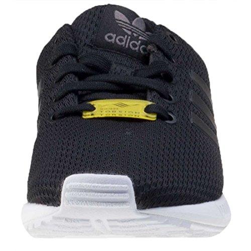 adidas Zx Flux, Sneaker a Collo Basso Unisex – Bambini Nero (Core Black/core Black/footwear White)