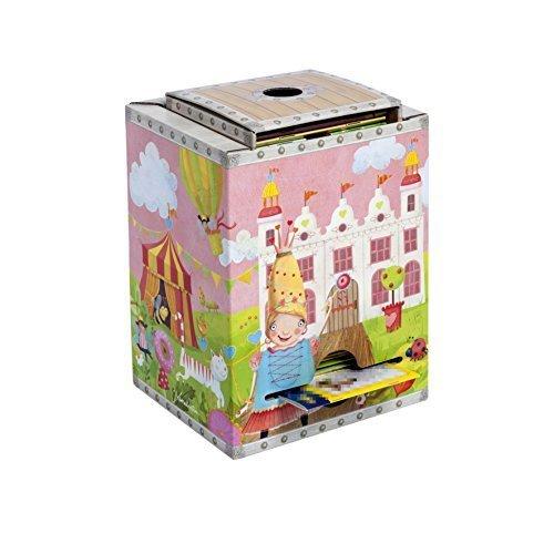 BonnieBoxx Boîte de rangement pratique pour mini-livres et livres à colorier