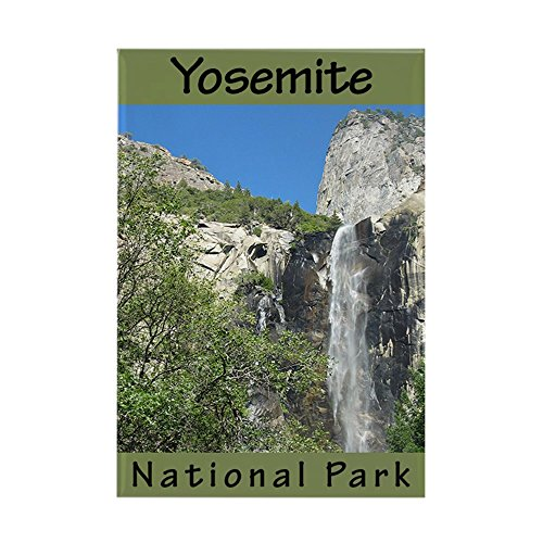 CafePress–Yosemite National Park (Verti–Rechteck Magnet, 5,1x 7,6cm Kühlschrank Magnet