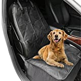 aLLreLi Coprisedile Animali Domestico Impermeabile per Auto non di Slittamento del Sedile Front Cover - Nero