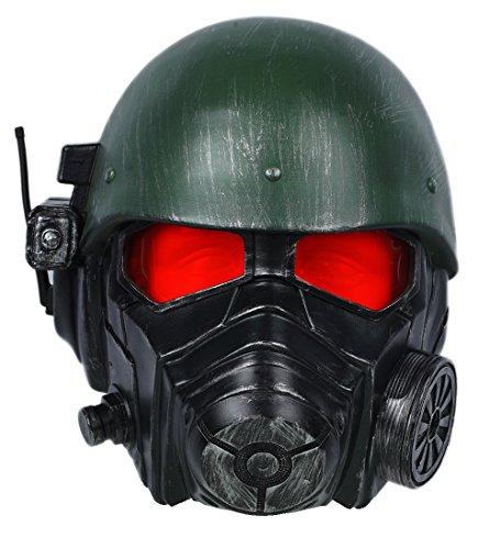 Halloween Cosplay Helm Deluxe Veteran Ranger Riot Armor Maske Erwachsene Verrückte Kleid Kostüm Props (Deluxe Red Ranger Kostüme)