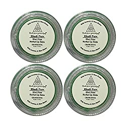 Khadi Pure Herbal Kiwi Lip Balm - 10g (Set of 4)