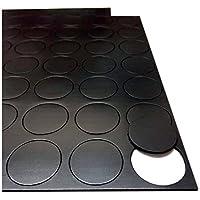 70 autoadhesivo puntos imanes magnético pequeño 25 mm disco grueso redondos modificara apanado **ELEGIR SU ESPESOR**, 1.5mm thick (25mm round)