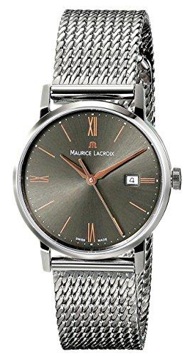 Maurice Lacroix EL1084-SS002-811 - Reloj de Pulsera Mujer, Acero Inoxidable, Color Plata