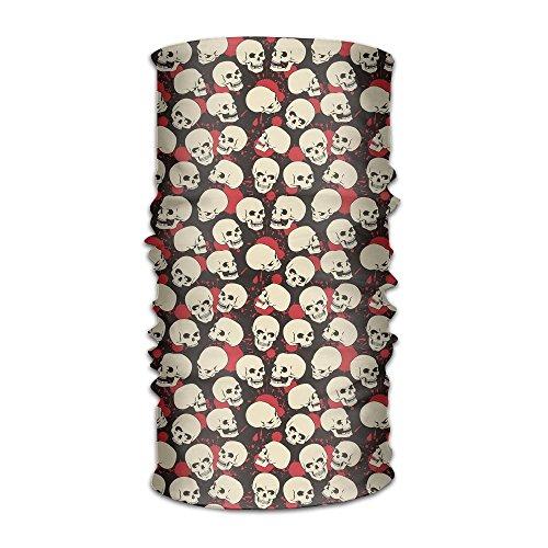 wear Bandana Scary Halloween Night Scarf Wrap Mask Sweatband Outdoor Headscarve ()