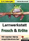 Lernwerkstatt Frosch & Kröte: Wir werden kleine Amphibienforscher -