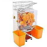 Hodoy - Máquina exprimidora para zumo de naranja Juicer, exprimidor comercial, alimentación automática/