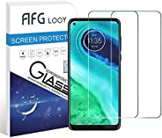 AFGLOOY 2Pack, Screen Protector Compatible with Moto G8, Tempered Glass for Motorola Moto G8, 9H Hardness, Scr