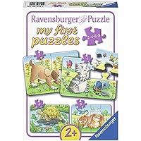 Ravensburger 06951 Niedliche Haustiere, 2,4,6,8 Teile