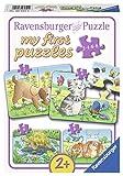 Ravensburger 06951 - Niedliche Haustiere, my first puzzles 2,4,6,8 Teile -
