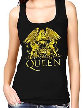 35mm - Camiseta Mujer Tirantes - Queen - Rock - Women'S Tank Top