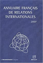 Annuaire français de relations internationales : Volume 8