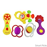 Smart Picks Baby Toys Rattle Set Of 5 Pi...