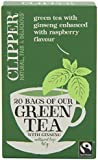 (3 PACK) - Clipper - Green Tea With Ginseng | 20 Bag | 3 PACK BUNDLE