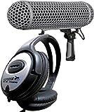 Rode Microphones - Micrófono, forrado, sistema de protección antiviento, incluye auriculares Keepdrum