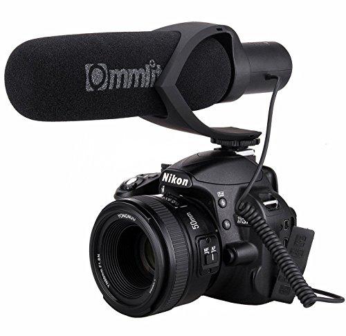 Comica cvm-v30 cardioide direzionale condensatore shotgun video microfono intervista youtube microfono con 3.5mm audio input spina low-taglio filtro 10db sensibilità regolabile per fotocamera canon 5dii 70d sony a7rⅡ a7sⅡ panasonic gh4 gh5 nikon dslr