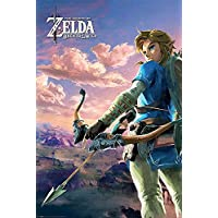 Póster The Legend of Zelda - Breath of the Wild (61cm x 91,5cm) + 1 póster sorpresa de regalo