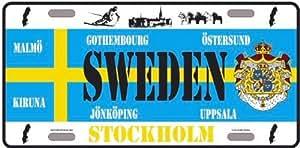 Platte-Collection Länder Welt Suede Sweden Stockholm