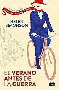 El verano antes de la guerra par Helen Simonson